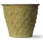 Fishscale Pot Fibreglass
